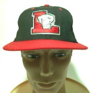 Lansing Lugnuts New Era Snap Back Hat in EUC